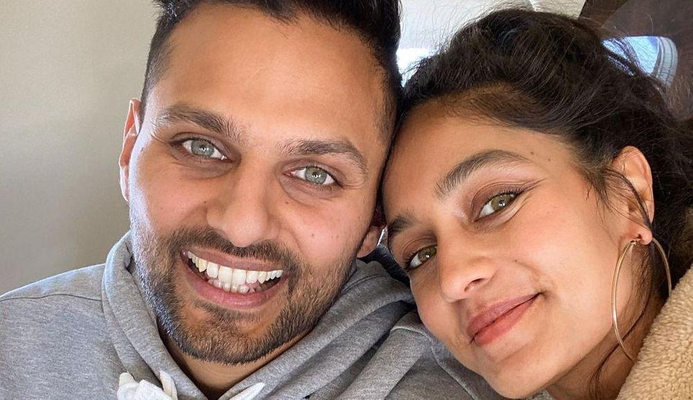 Jay Shetty and Radhi Devlukia