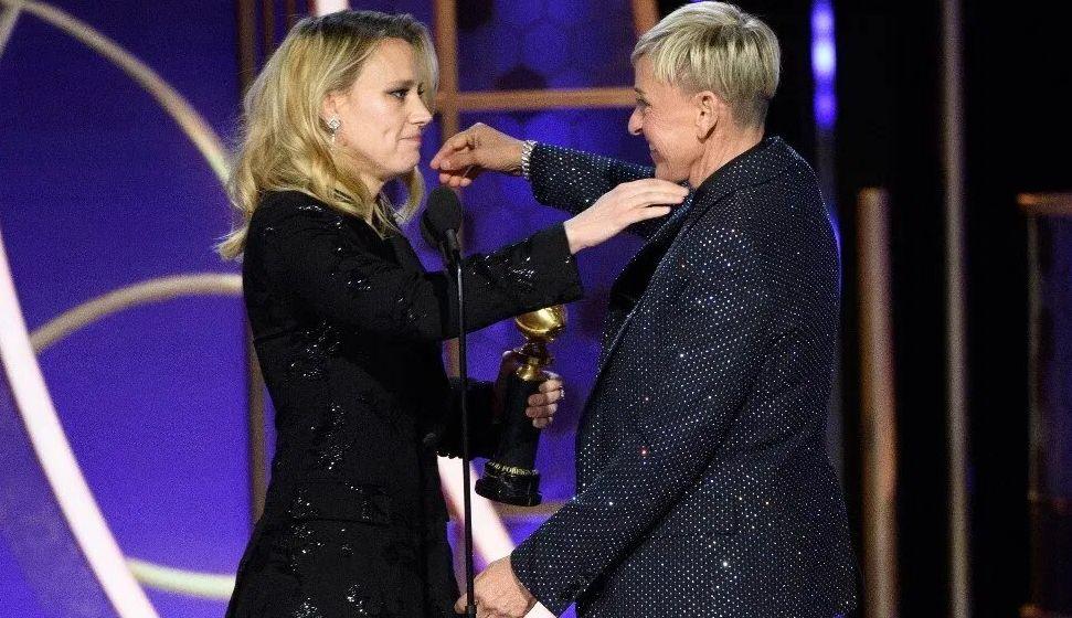 Kate McKinnon and Ellen DeGeneres