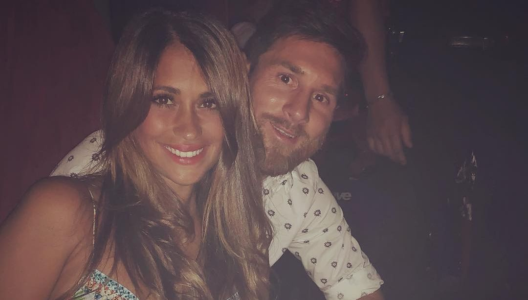 Roccuzzo and Messi