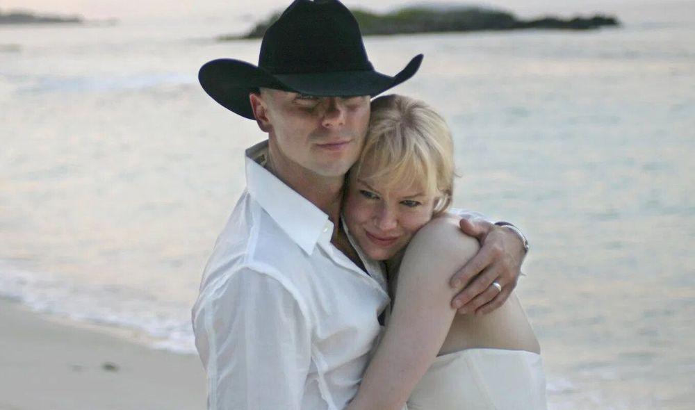 Renee Zellweger and Kenny Chesney