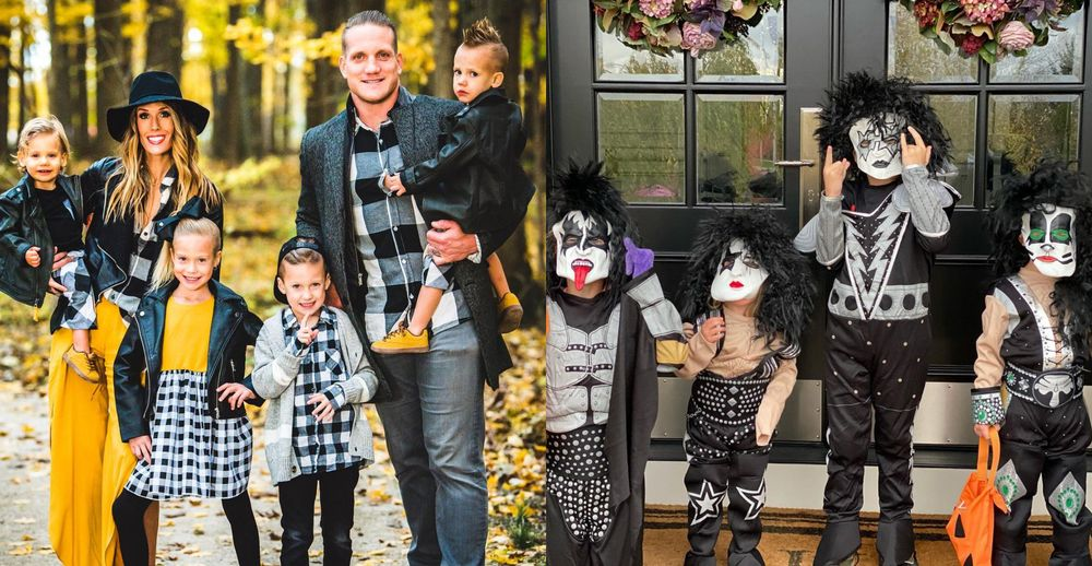 AJ Hawk wife and kids