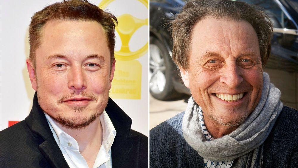 Elon and Errol Musk
