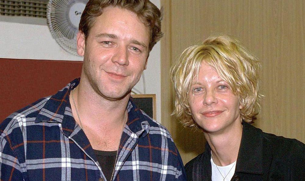Russell Crowe and Meg Ryan