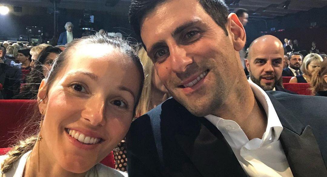 Jelena and Novak
