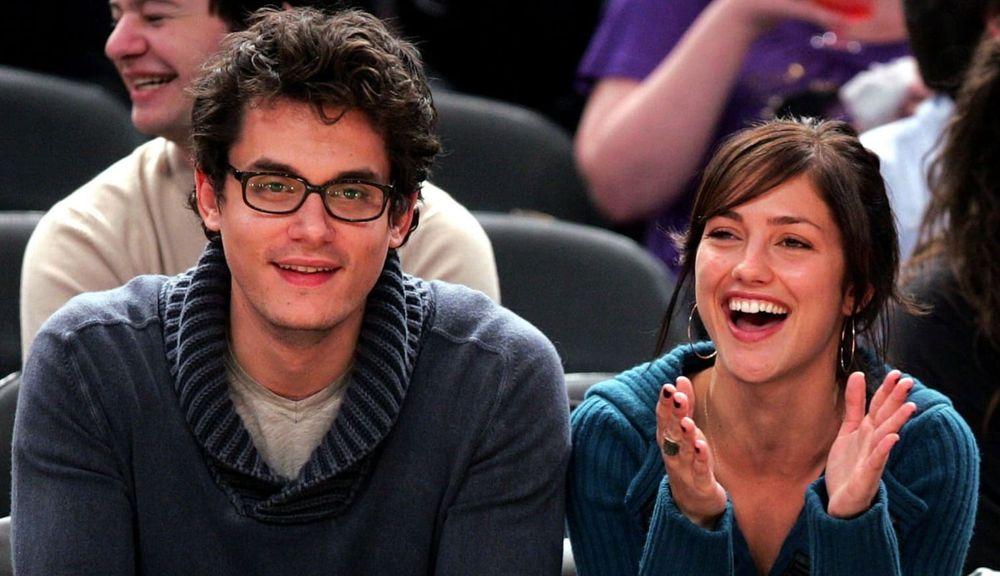 John Mayer and Minka Kelly
