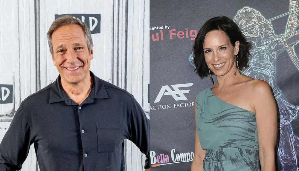 Mike Rowe and Danielle Burgio