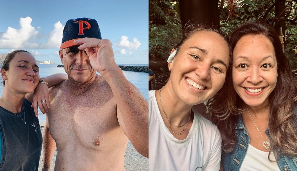 Carissa Moore's parents