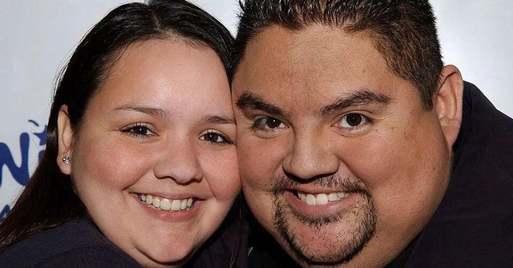 Claudia Valdez and Gabriel Iglesias