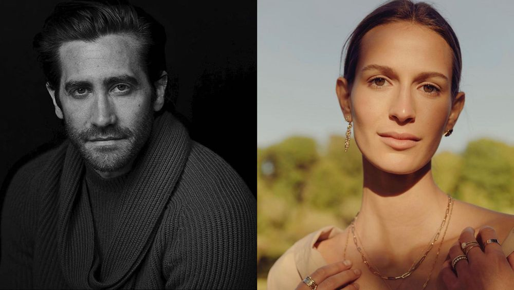 Jake Gyllenhaal and Jeanne Cadieu