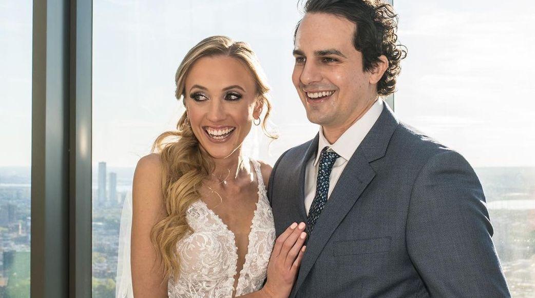 Kat Timpf and Cameron Friscia