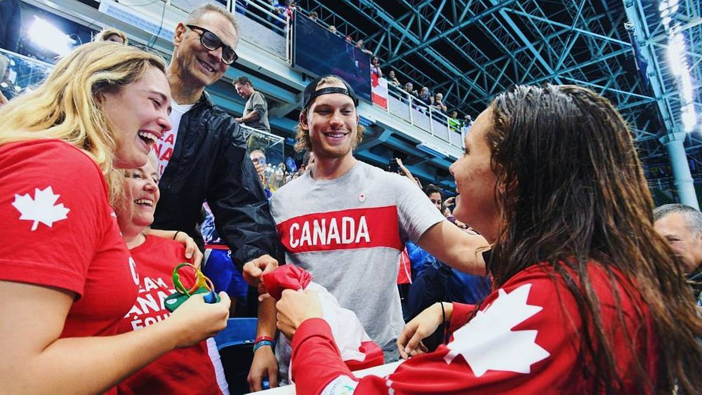 Penny Oleksiak And her Family