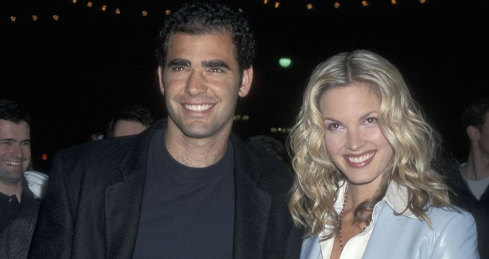 Pete Sampras and Bridgette Wilson