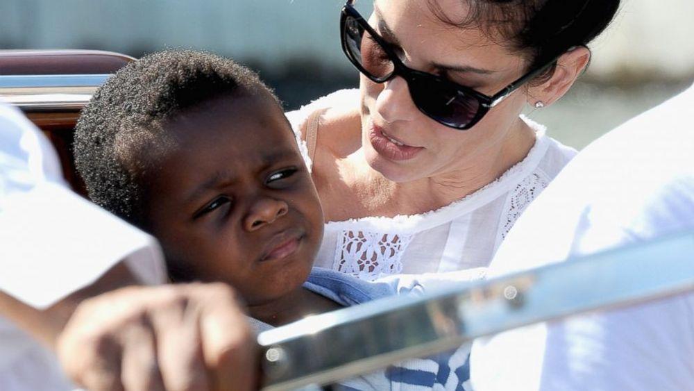 Sandra Bullock and his son Louis Bardo Bullock