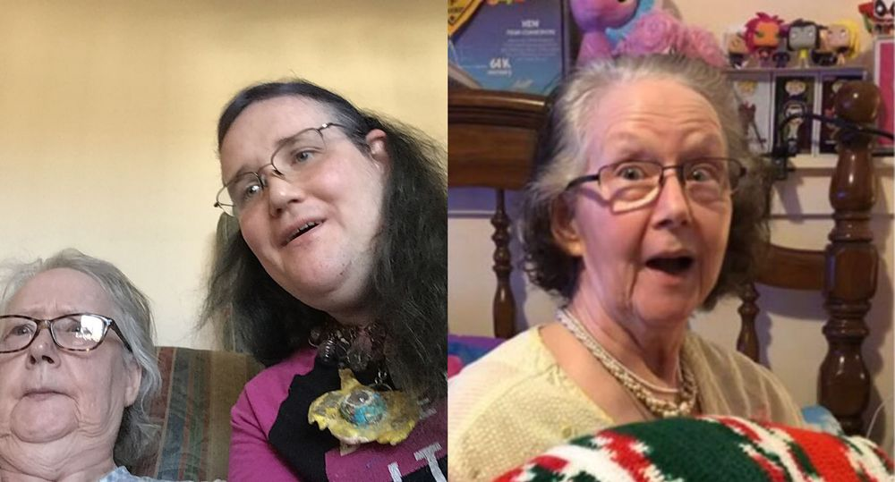 Chris Chan and her mother