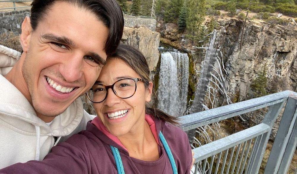 Joe Locicero and Gina Rodriguez