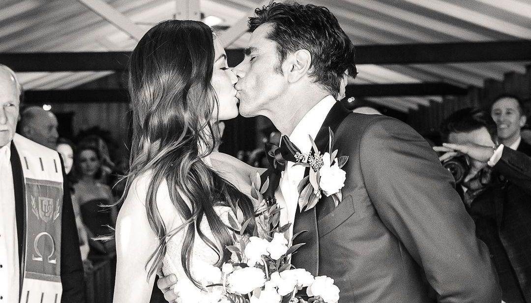 John Stamos and Caitlin Wedding