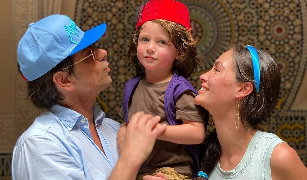 John Stamos wife and his child