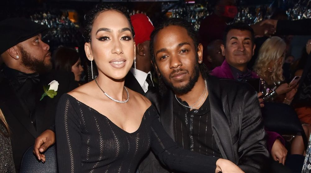 Kendrick Lamar And Whitney Alford