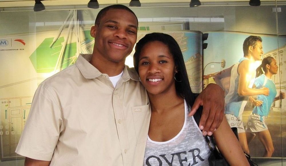Russell Westbrook And Nina Earl