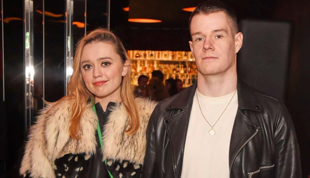 Aimee Lou Wood and Connor Swindells