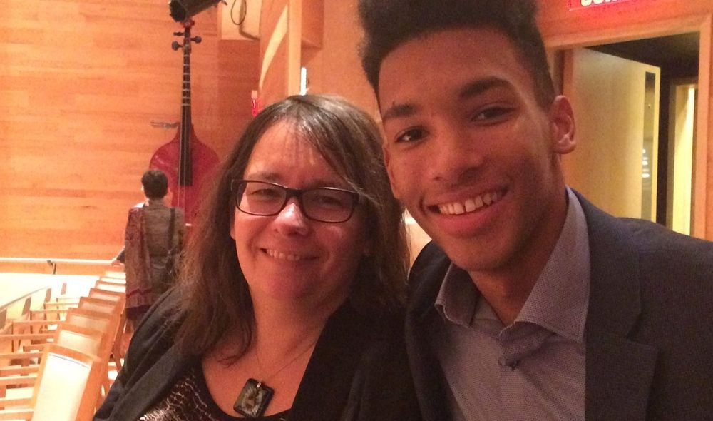 Felix Auger-Aliassime And His Mother