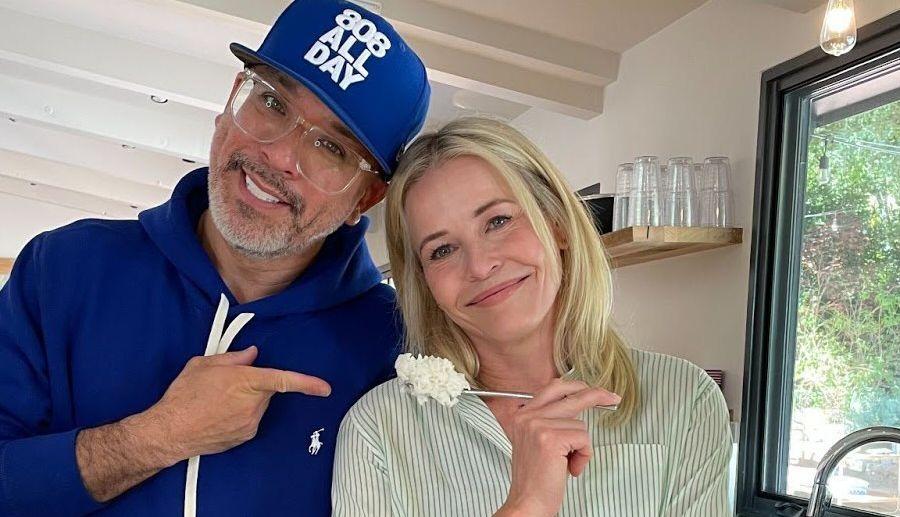 Jo Koy and Chelsea Handler