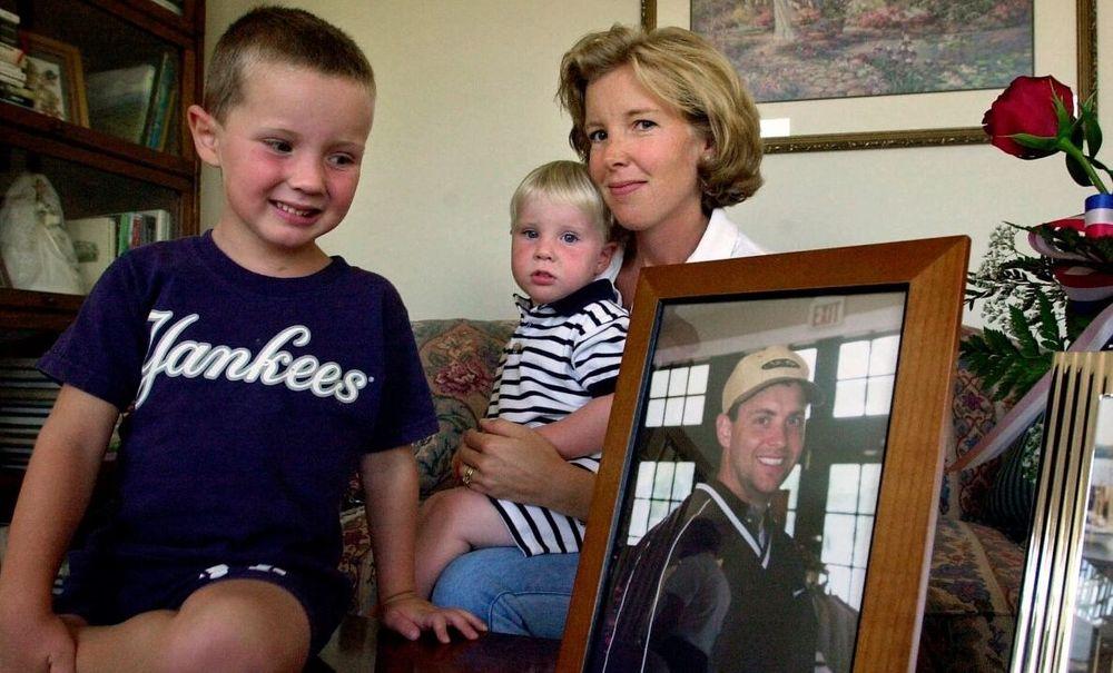 Lisa Beamer and her children
