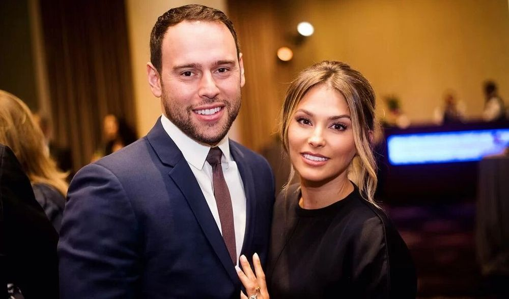 Scooter Braun And Yael Cohe