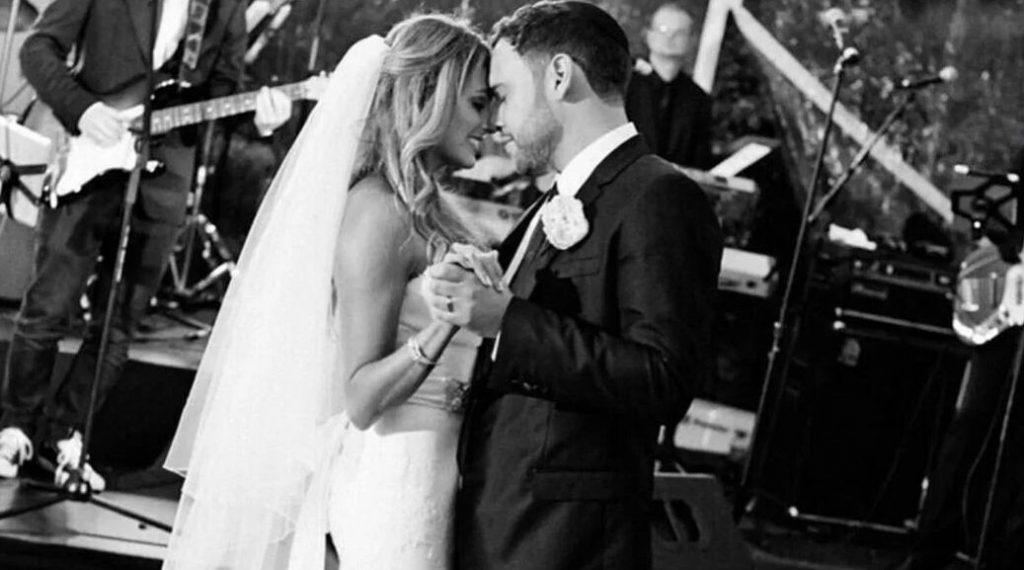 Scooter Braun And Yael Cohen wedding